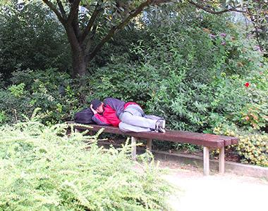 Die Obdachlosigkeit in Hamburg steigt konstant