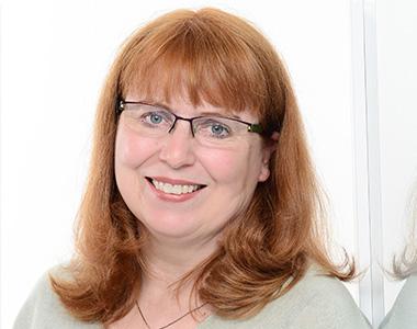 Stiftungsrepräsentantin Stephanie Rosbiegal